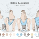 brian-le musclé-gradelet-weclewicz