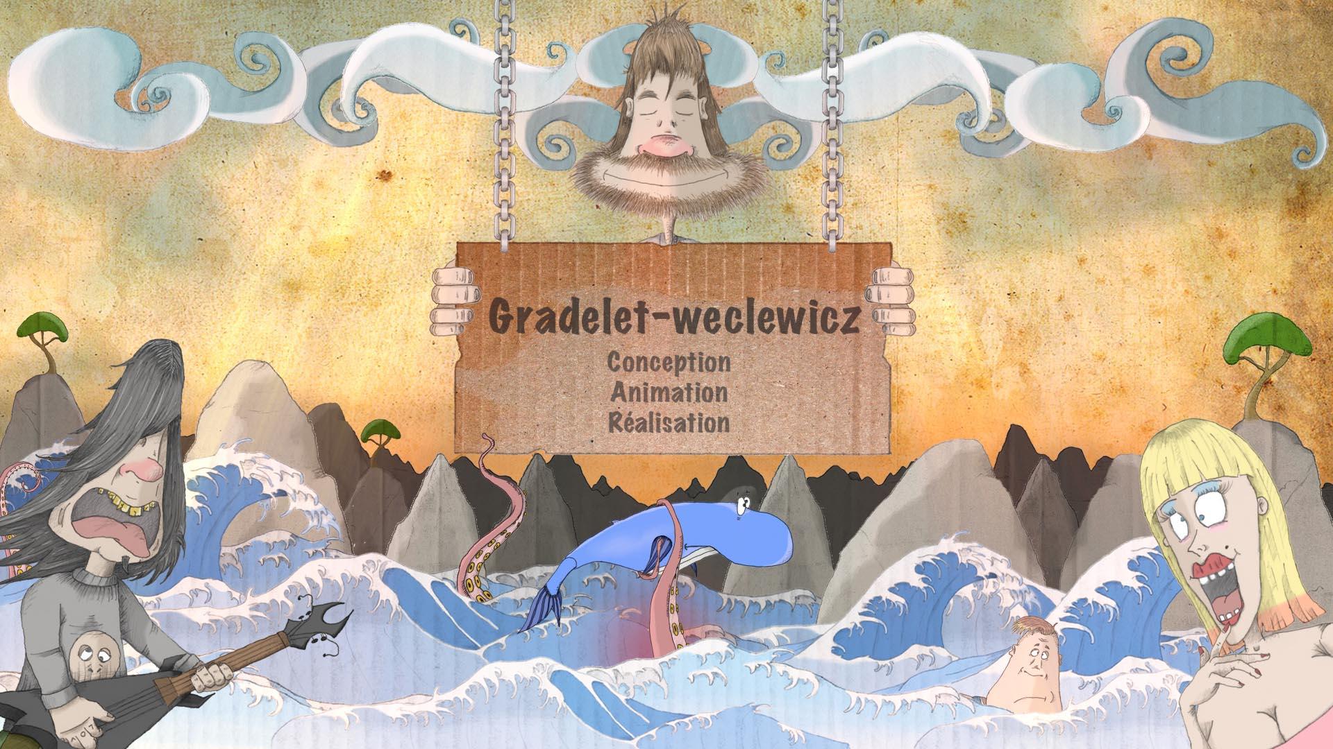 Home Page de Philippe Gradelet et Aline Weclewicz