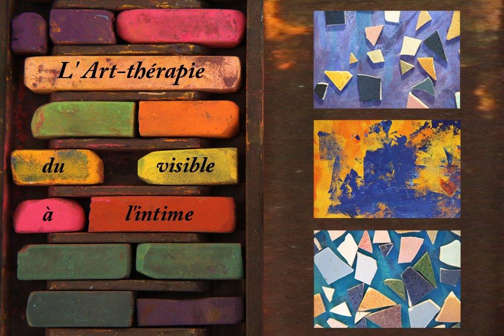 affiche du film l'art-thérapie, du visible à l'intime de gradelet-weclewicz